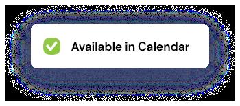 Available in calendar